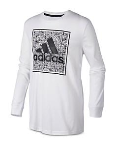 Adidas - Boys' Doodle Logo Tee - Little Kid, Big Kid