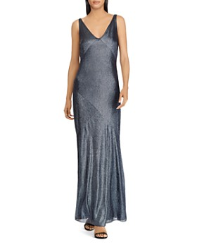 54551765236 Ralph Lauren Evening Dress - Bloomingdale s