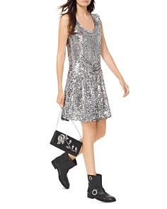 MICHAEL Michael Kors - Sequined Slip Dress