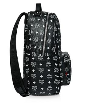 MCM - Stark Visetos Leather Backpack