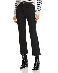 Levi's - Mile High Crop Flare Jeans in Pardon My French
