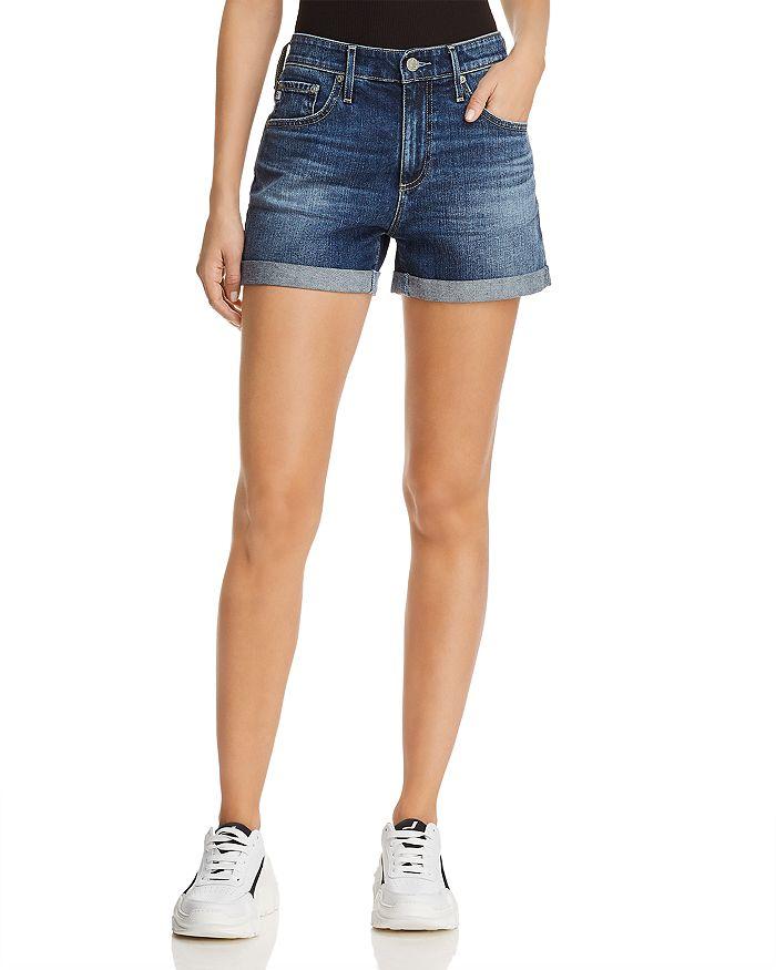 51693cb8f6 AG Hailey Denim Shorts in 18 Years Indigo City   Bloomingdale's