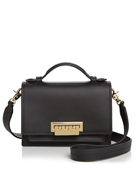 2dc3272ea4fd ZAC Zac Posen - Earthette Mini Accordion Leather Crossbody ...