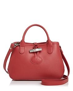 Longchamp - Roseau Mini Leather Crossbody