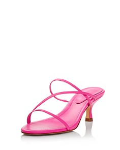 SCHUTZ - Women's Evenise Neon Kitten Heel Sandals