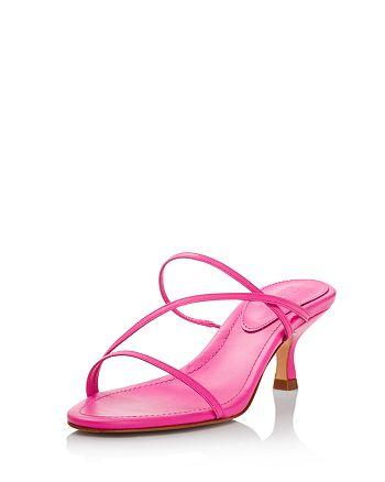 SCHUTZ - Women's Evenise Neon Kitten Heel Sandals
