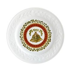 Bernardaud - Louvre Christmas Dessert/Salad Plate