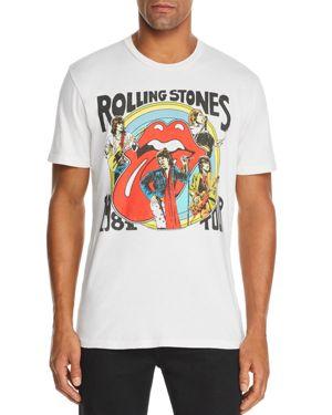 BRAVADO Rolling Stones Graphic Tee in White