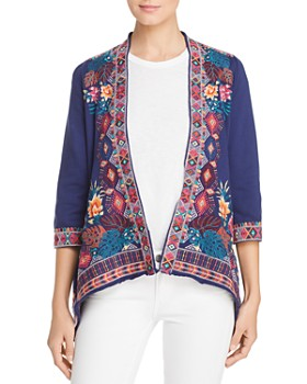 Johnny Was - Quinn Embroidered Cardigan