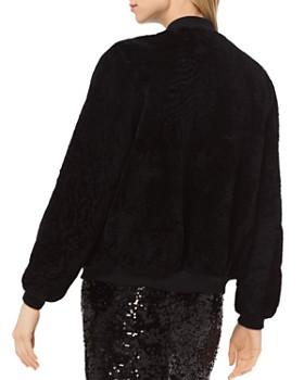 MICHAEL Michael Kors - Shearling Bomber Jacket