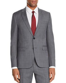 HUGO - Astian Glen Plaid Slim Fit Suit Jacket - 100% Exclusive