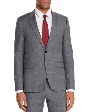 HUGO - Astian Glen Plaid Slim Fit Suit Jacket - 100% Exclusive