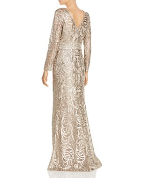 7a90053345678 Tadashi Shoji - Embellished Lace Gown Tadashi Shoji - Embellished Lace Gown