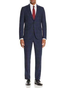 Paul Smith Plaid Wool Slim Fit Suit