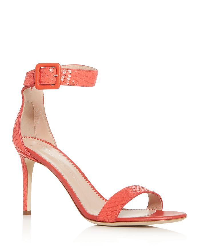 Giuseppe Zanotti Women's Neyla Ankle-Strap High-Heel Sandals In Corallo
