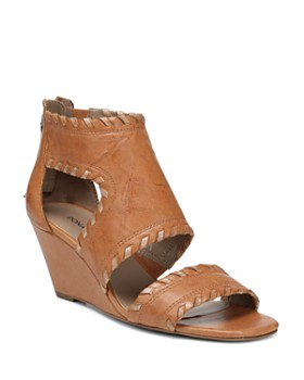 Donald Pliner - Women's Sami Vintage Leather Wedge Sandals
