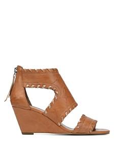Donald Pliner - Women's Sami Vintage Leather Wedge Sandals