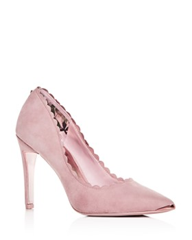 3fa7d95fbd80b5 Ted Baker - Women s Sloana Scalloped Pointed-Toe Pumps ...