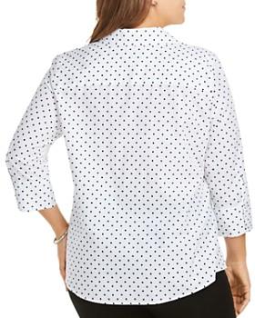 Foxcroft Plus - Mary Star Button-Down Shirt