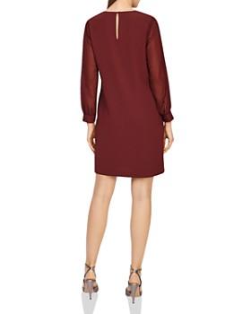 REISS - Amerie Pleated-Sleeve Dress