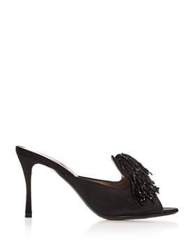Tabitha Simmons - Women's Pammy Embellished High-Heel Slide Sandals