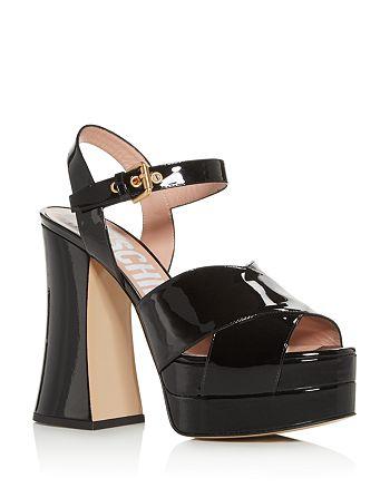 Moschino - Women's High-Heel Platform Sandals