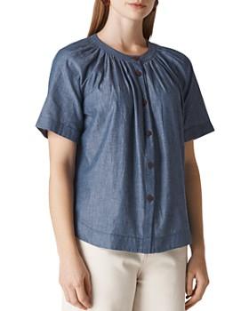 fe656aea16551f Chambray Shirt Women - Bloomingdale's
