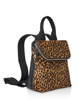 Whistles - Mini Verity Leopard Print Backpack