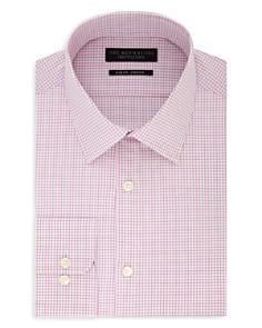 The Men's Store at Bloomingdale's - Shadow-Checked Slim Fit Dress Shirt - 100% Exclusive