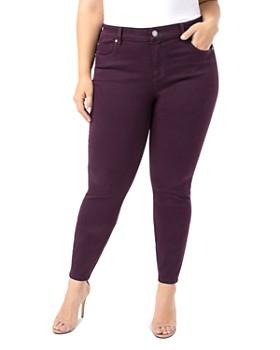 Liverpool Plus - Abby Skinny Jeans in Rich Velvet