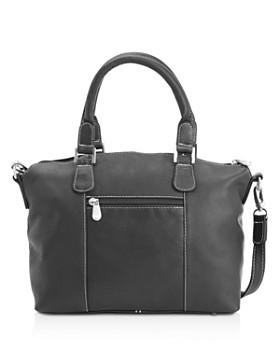 ROYCE New York - Weekender Leather Duffel Bag