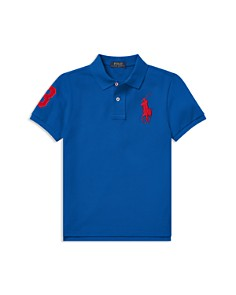 Ralph Lauren - Boys' Cotton Mesh Polo Shirt - Little Kid