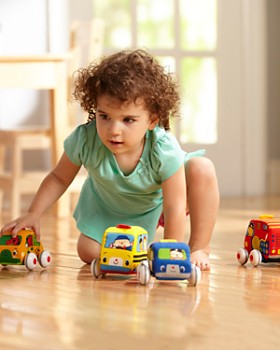 Melissa & Doug - Pull Back Vehicles - Ages 9 Months+