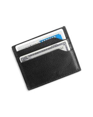 Royce New York Leather Rfid-Blocking Card Case Wallet