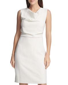 Donna Karan - Sleeveless Cowl-Neck Sheath Dress