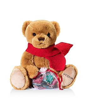Godiva® - Holiday 2018 Limited Edition Plush Bear with Chocolate