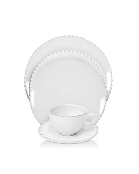 Costa Nova - White Pearl Dinnerware