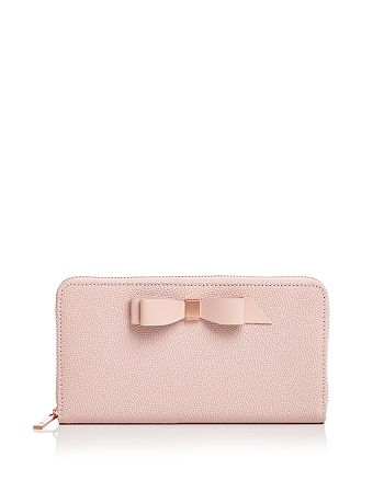 Ted Baker - Aine Matinee Bow Zip Around Wallet
