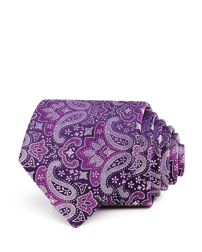 The Men's Store at Bloomingdale's - Paisley Silk Classic Tie - 100% Exclusive