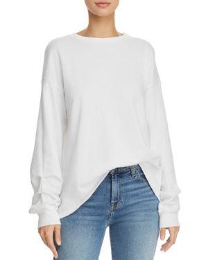 MICHELLE BY COMUNE Michelle By Comune Lamont Sweatshirt in White