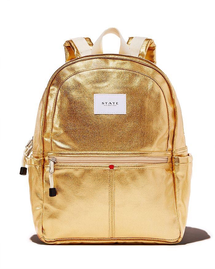 464259d4e16 STATE - Kane Metallic Backpack