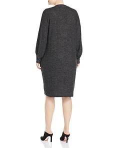B Collection by Bobeau Curvy - Janice V-Neck Shift Dress