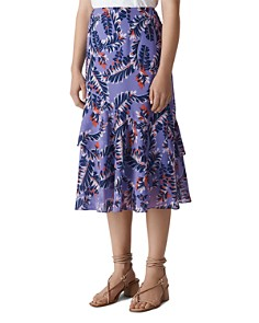 Whistles - Josephine Printed Skirt
