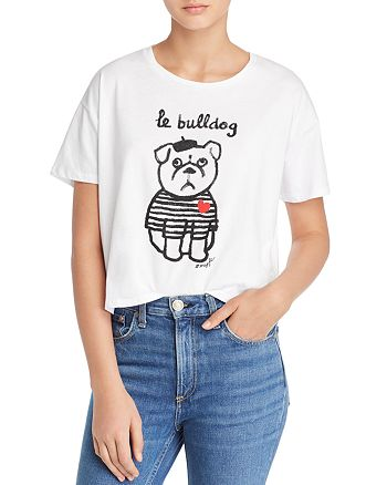 FRENCH CONNECTION - Le Bulldog Graphic Tee