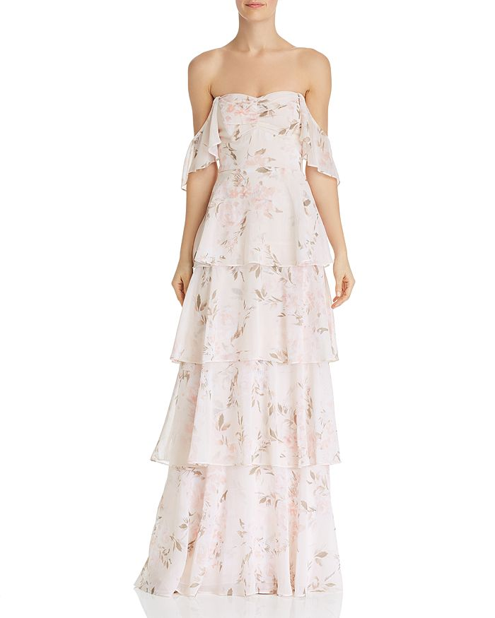 4c2ddc7bf9 WAYF Abby Off-the-Shoulder Dress | Bloomingdale's