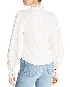 Joie - Bobette Embroidered Eyelet Shirt