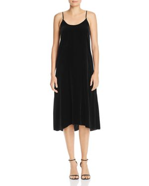 Enza Costa Velvet Slip Dress