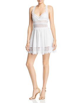 Charo Ruiz Ibiza - Marilyn Lace Mini Dress