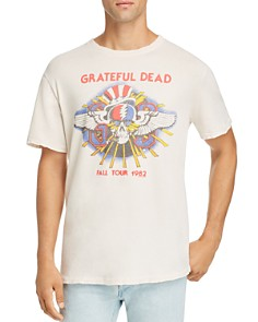 Junk Food - Grateful Dead Fall Tour 1982 Graphic Tee