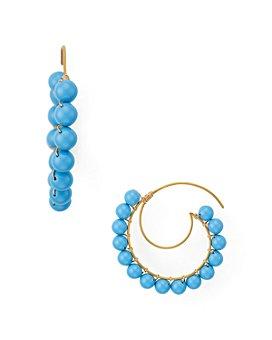 Beck Jewels - Lune Crescent Threader Earrings
